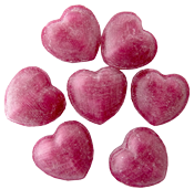 Now available for the winter season: Sugarfree Mulled claret hearts