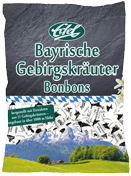 Bavarian moutain herbs – upgrade for a traditional candy