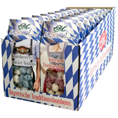 NEW: Bavarian heart candies in costumes boxes